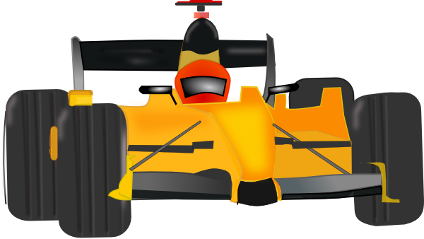 Race car clip art at vector clip art