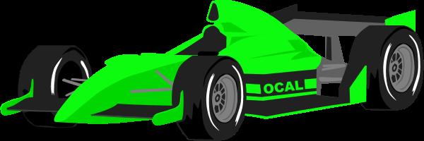 Race car clipart image a racing
