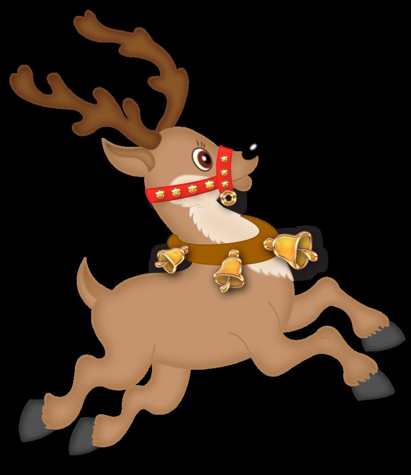 Reindeer clipart 3