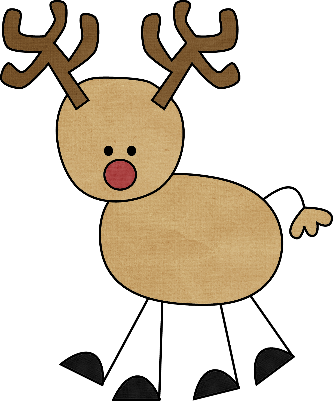 Reindeer clipart 6 2