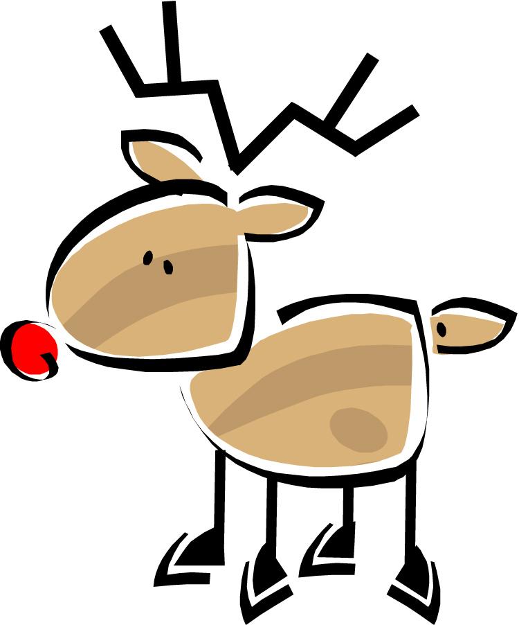 Reindeer clipart 6