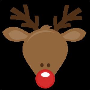 Reindeer clipart head clipartfest