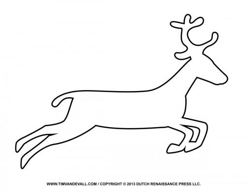 Reindeer clipart image