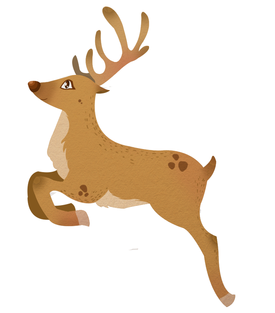 Reindeer free to use clipart 2