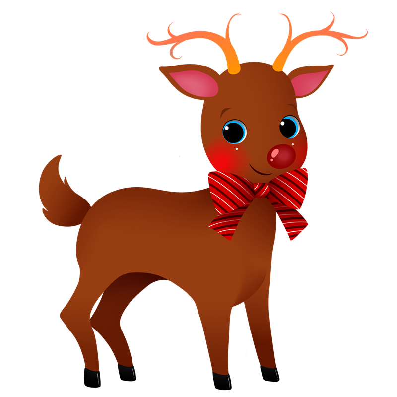 Reindeer free to use clipart 3