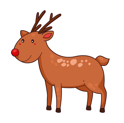 Reindeer free to use clipart 4