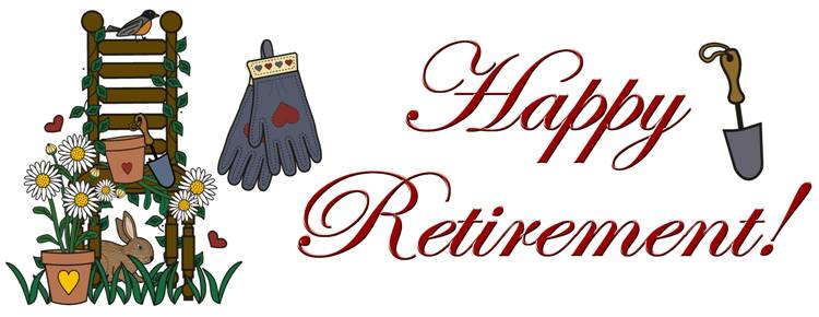 Retirement clip art farewell images free clipart