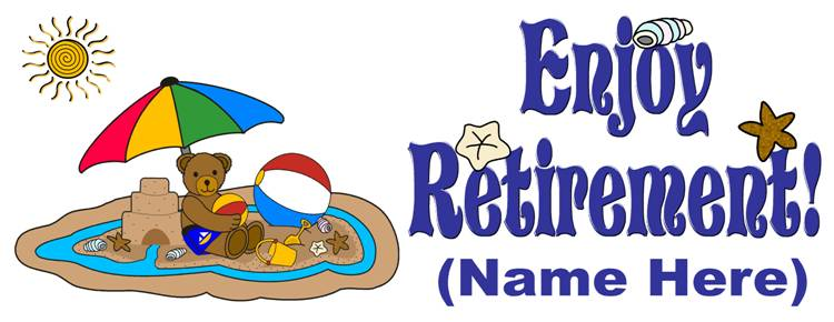 Retirement clipart farewell images free
