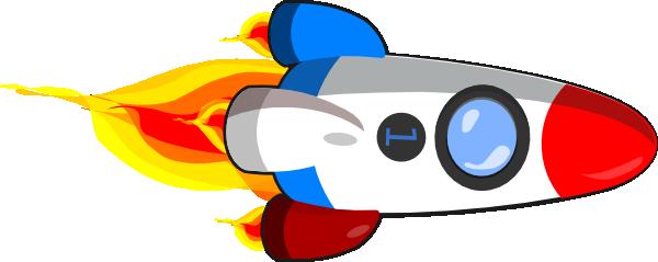 Rocket clip art clipart image 2 2