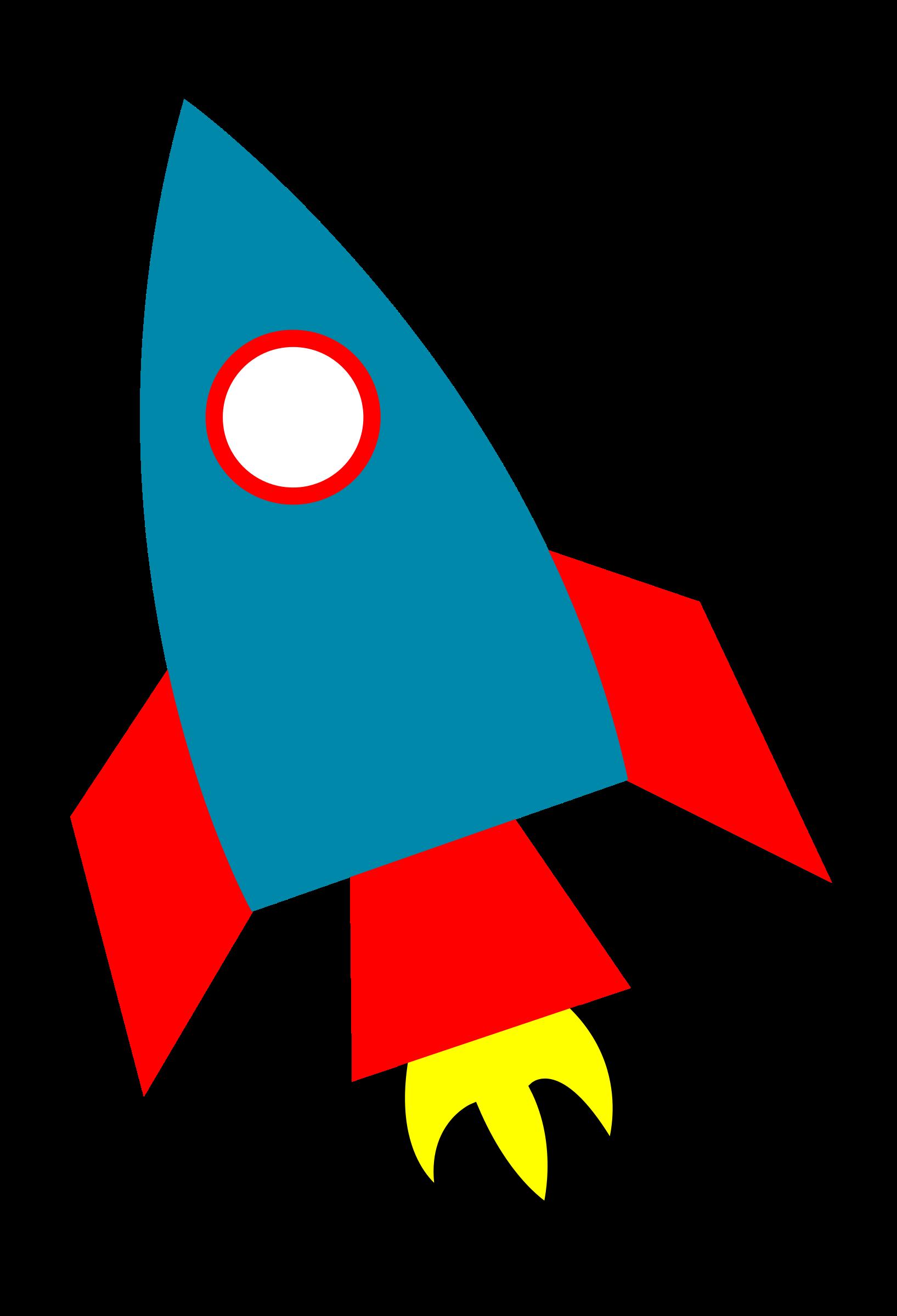 Rocket clip art clipart image 2