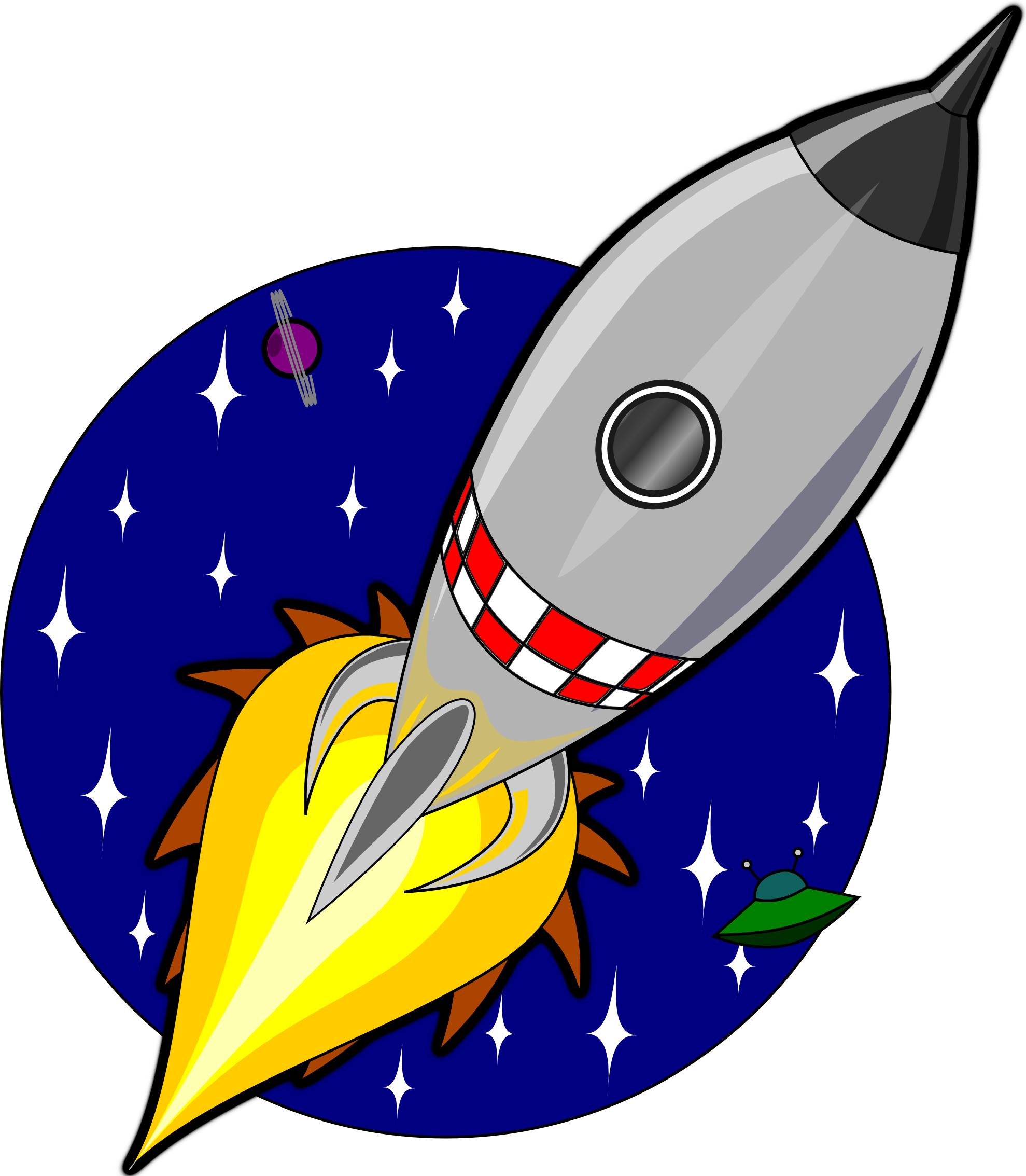 Rocket clip art free clipart images 2