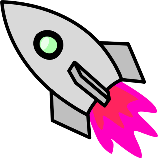 Rocket clip art free clipart images 4