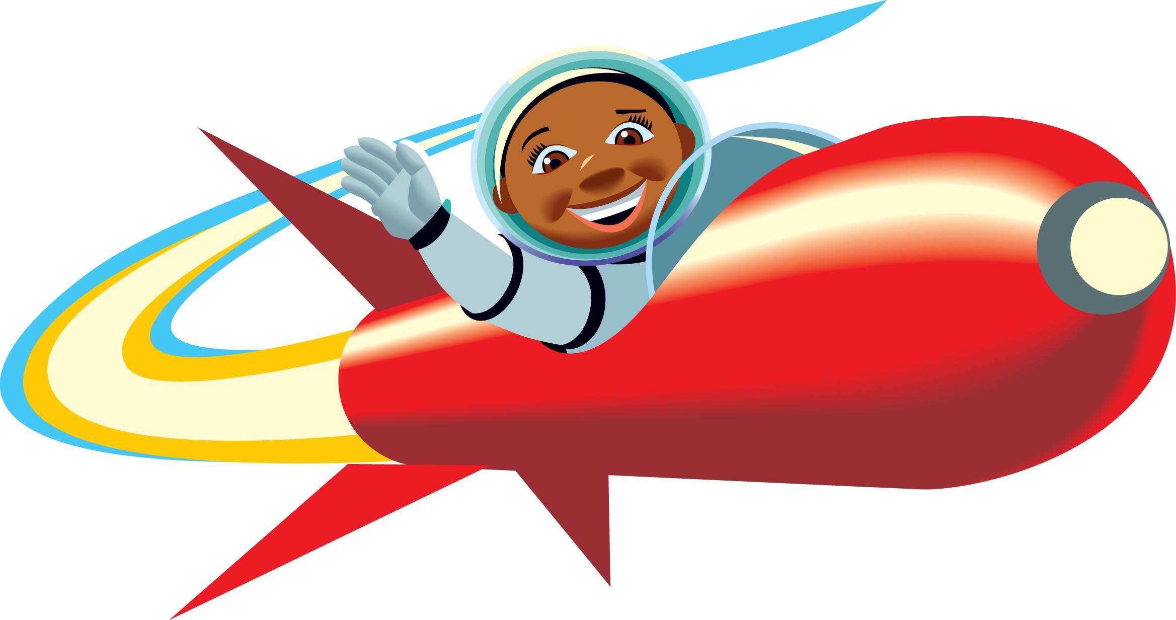 Rocket clip art to download