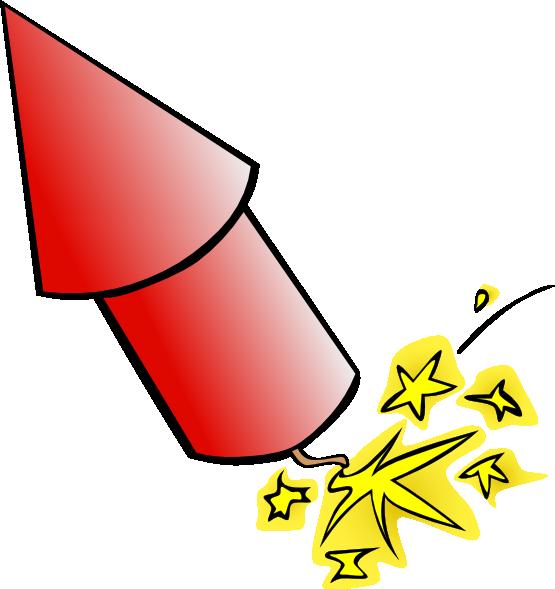 Rocket clipart 7