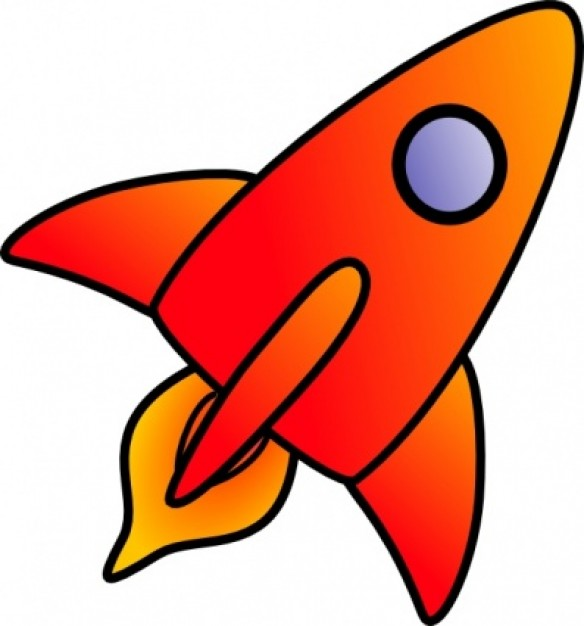 Rocket clipart clipart - WikiClipArt