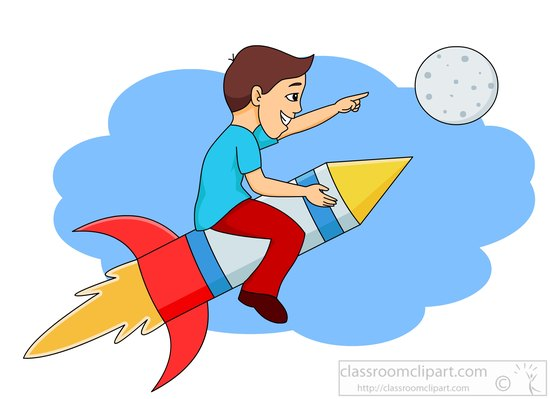 Rocket clipart cliparts for you 2