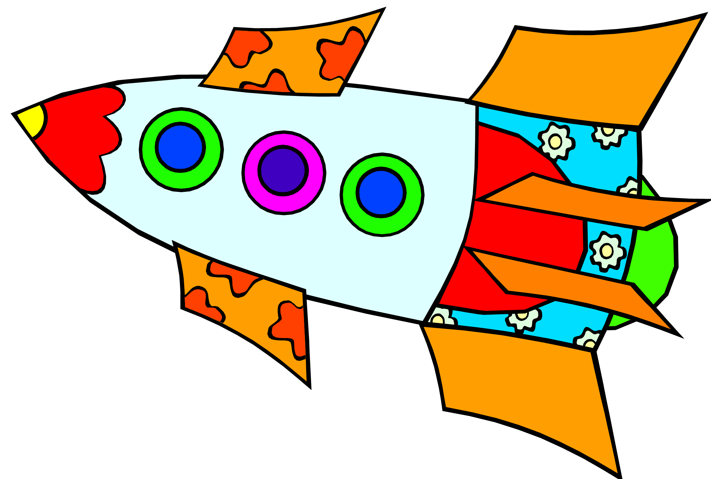 Rocket clipart for kids clipartfest 2