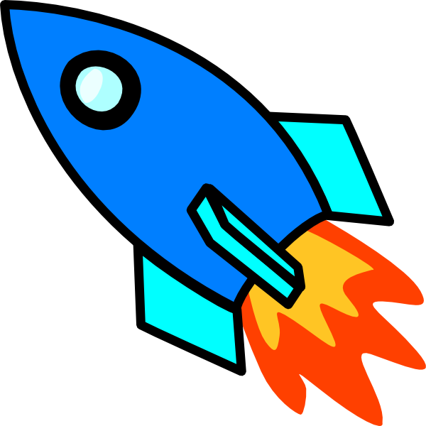 Rocket clipart free images