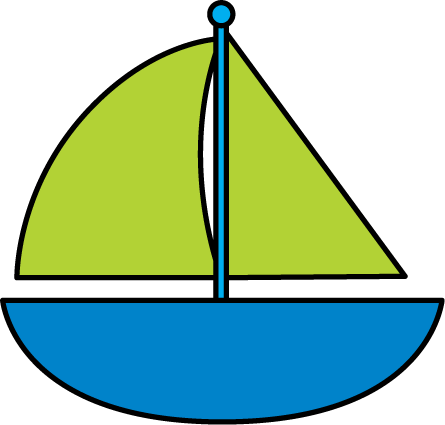 Sailboat clipart 2