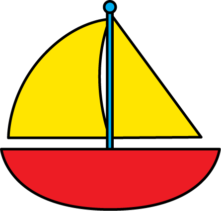 Sailboat clipart 3