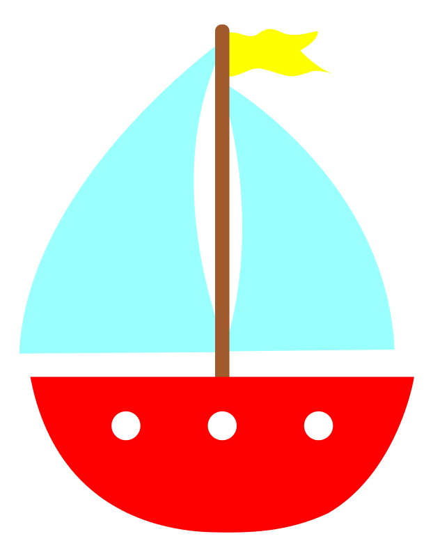 Sailboat free to use clip art 2