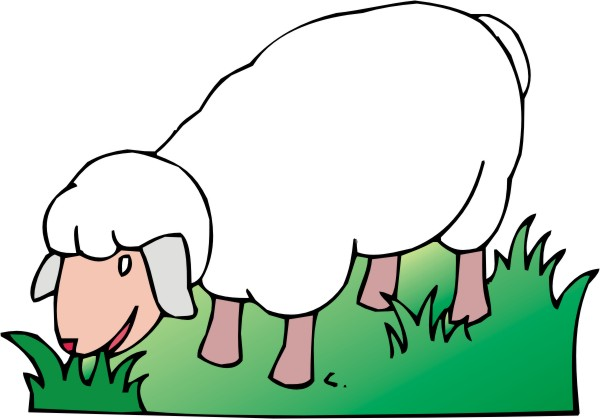 Sheep clipart 3