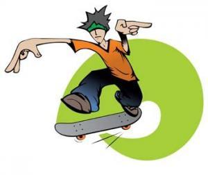 Skateboard clip art download 3