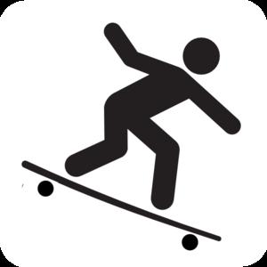Skateboard clipart 2 2