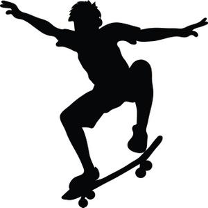 Skateboard clipart free clipartfest 2
