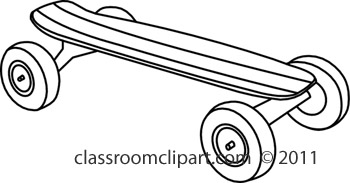 Skateboard clipart free images image 2