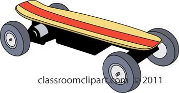 Skateboarding clipart skateboard 2