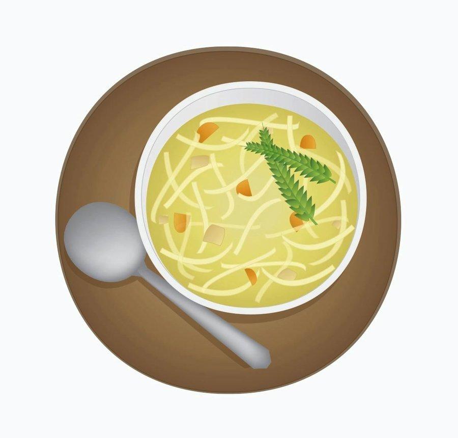 Soup clip art 3