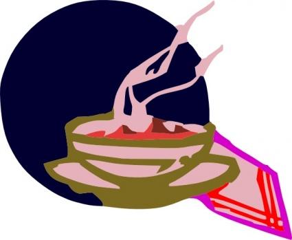 Soup clip art 7