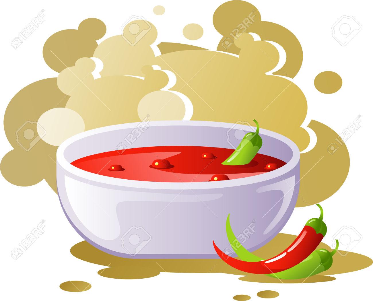Soup clip art vector soup graphics image