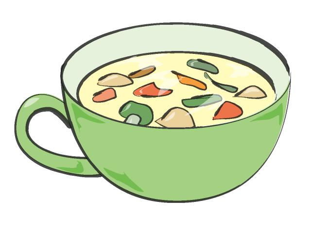Soup clipart free clipartfest