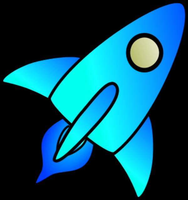 Space rocket clip art outline pics about space 2 image 3