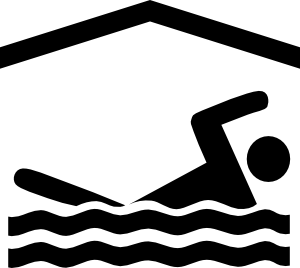 Swim team clip art black and white swimming 3 vector
