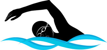 Swimming clip art vector swimming graphics clipartbold