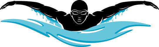 Swimming women swimmer clipart