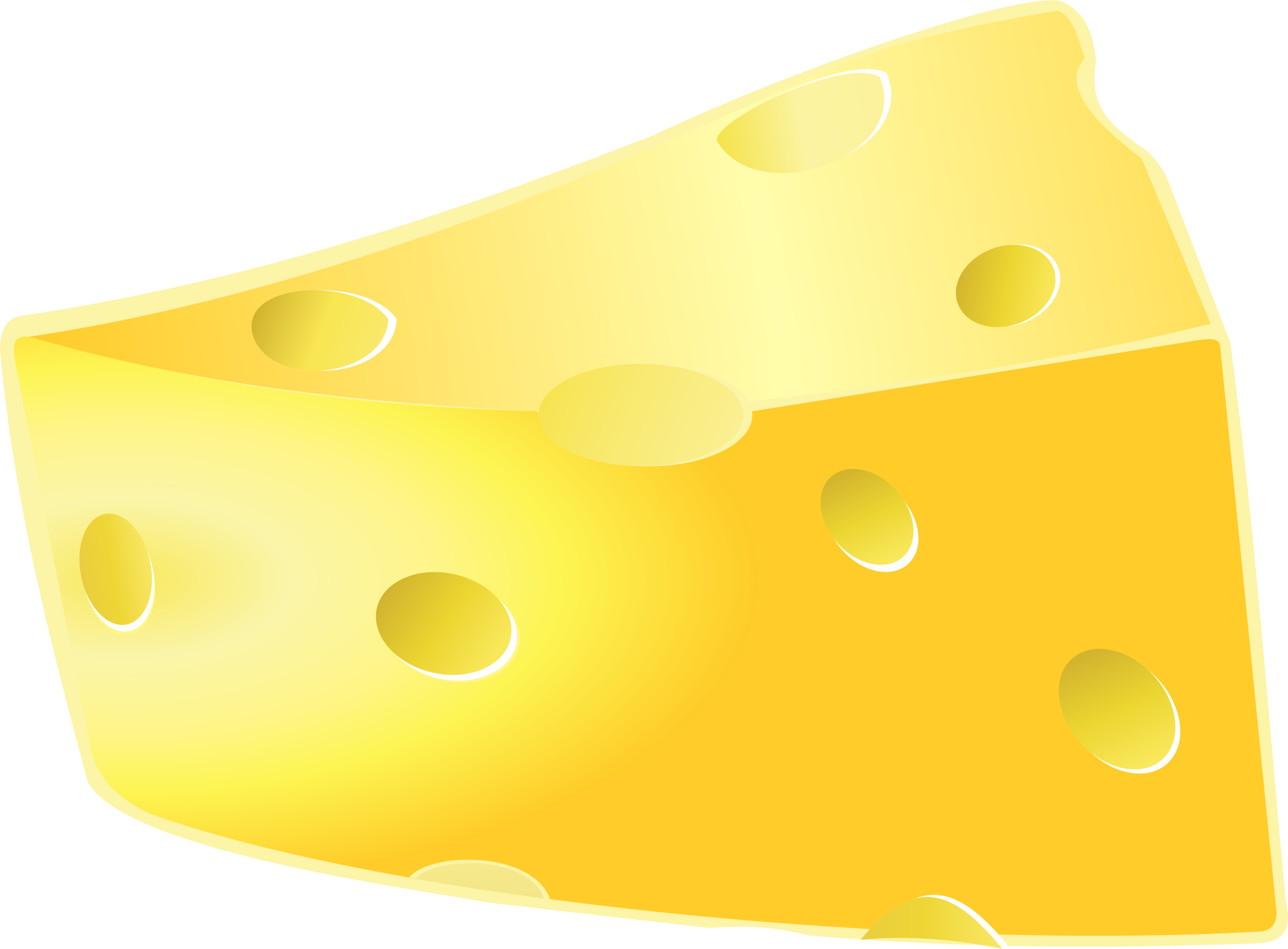 Swiss cheese clipart 2