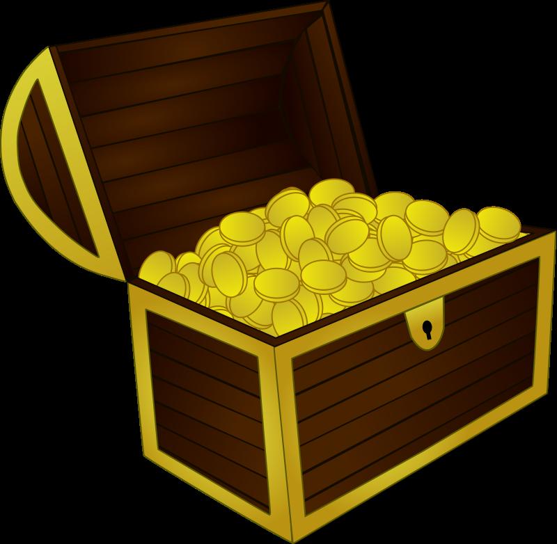 Treasure chest clip art download
