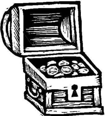 Treasure chest clip art free 2 3