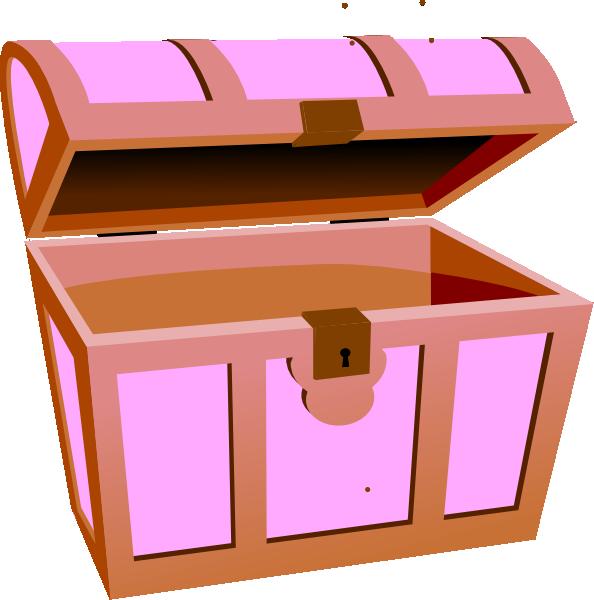 Treasure chest clip art free