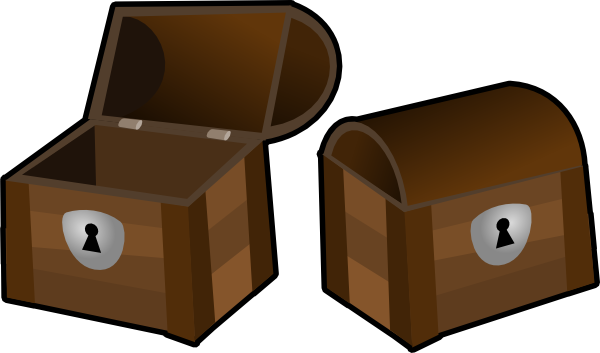 Treasure chest clipart 2