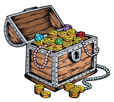 Treasure chest clipart free images 2