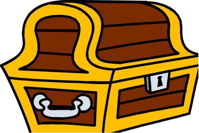 Treasure chest clipart free images 3