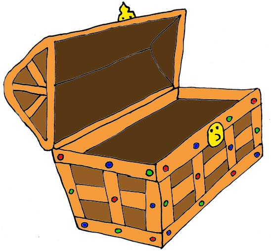 Treasure chest clipart free images 4