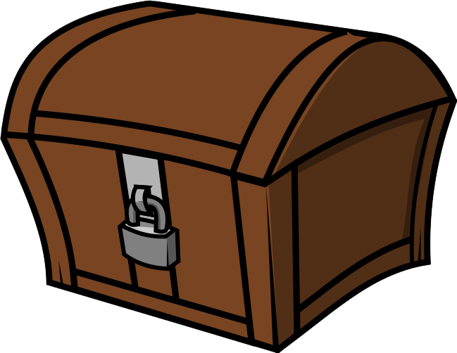 Treasure chest clipart free images 6