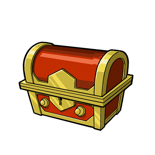 Treasure chest clipart free images 7