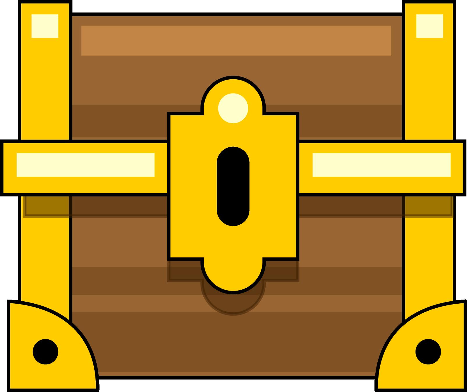 Treasure chest free to use clip art 2